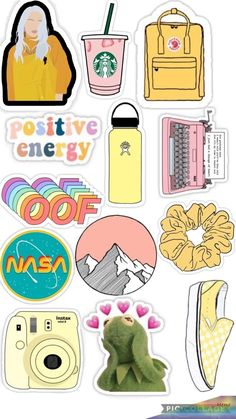 Small & Large Aesthetic Stickers For Phone Case (1*1 Inc) Stickers For Laptop For Bottle (2*2 Inc) 25pcs. 619 Stickers Cool, Cute Laptop Stickers, Tumblr Stickers, Phone Stickers, Journal Stickers, Scrapbook Stickers, Funny Stickers, Free Printable Stickers, Homemade Stickers
