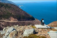 The startling blue panoramic ocean views visible from the top of the Skyline Trail are one of the many reasons to linger on the Cabot trail in Cape Breton, Nova Scotia. Three splendid nights on the Cabot Trail