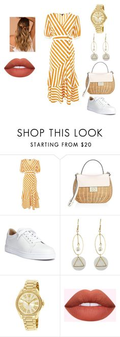 """""""Stripes"""" by ranimashames on Polyvore featuring Topshop, Kate Spade, Christian Louboutin and Michael Kors"""