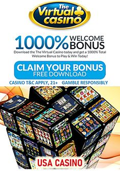 Latest Virtual casino bonus codes. Sign up today and get 800% match bonus on your first deposit. Make it a $100 or more and get 100% cashback, plus additional 100% match and instant VIP upgrade! What a red carpet deal! Weekly No Rules bonuses, no deposit coupons, VIP match bonus offers. Monthly promotions. High roller bonuses and cash back deals. Best casino bonus codes at the Virtual! #VirtualCasino #USAcasinos #RTGcasinos #NoRulesBonus High Roller, Best Casino, Coupon Deals, Casino Bonus, Online Casino, Vip, Coupons, Red Carpet, Coupon