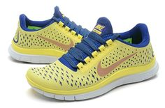 100% authentic 4669f bbf68 Authentic Nike Shoes For Sale, Buy Womens Nike Running Shoes 2014 Big  Discount Off Nike Free Womens Lemon Yellow Blue Sneaker   -