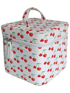 Cherries - Train Case | Flaming Star Shop.... omg i want it so bad lol