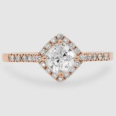 Love this stunning ring in rose gold.