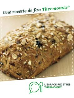 Multi-grain bread by A fan recipe to find in the Breads & Viennoiseries category on www.espace-recett …, of Thermomix®. Pain Thermomix, Dessert Thermomix, Thermomix Bread, Cereal Bread, Multi Grain Bread, Almond Croissant, Back Pain Remedies, Bagel Recipe, Pastries