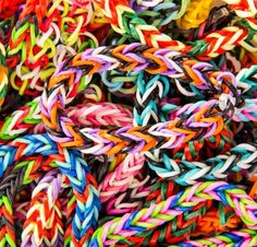 My daughter, Jane, came to the Rainbow Loom craze a little late. But like so many kids, she was excited by how easy and fun it seemed to be to crank out colorful bracelets, and I became one of the many moms who wore one last summer (dads...
