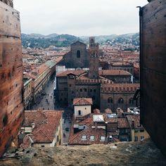 Bologna dal Campanile Di San Pietro - Instagram by sale1976
