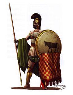 Athenian Hoplite at the Battle of Marathon, 490 BC