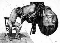 The Disturbing Drawings of Nicola Alessandrini