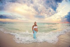 Beautiful maternity photography on the beach at sunset. Photo by Kansas Pitts Photography. Maternity Poses, Maternity Portraits, Maternity Photographer, Maternity Pictures, Pregnancy Photos, Beach Photography, Newborn Photography, Family Photography, Baby Boy Photos