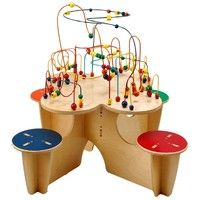 encourages cooperative play