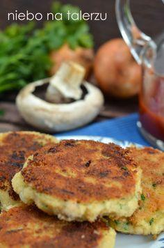 niebo na talerzu: Kotlety z kaszy jaglanej i ziemniaków