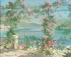 Liliana Frasca  Lago di Como - Oil on canvas