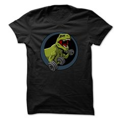 Dinosaur Gym T-Shirts, Hoodies. SHOPPING NOW ==► Funny Tee Shirts