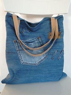Recy-jeansová kabela XV.