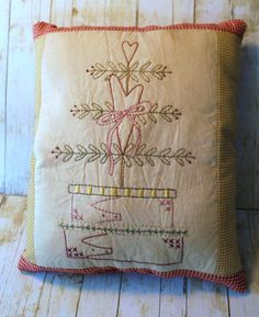 Design by: http://www.Primitive-Stitches and stitched by: Scrapbooking Cottage on Etsy