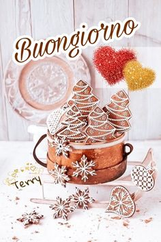 Italian Greetings, Italian Memes, Say Hello, Good Morning, Place Card Holders, Clip Art, Christmas, Pictures, Good Morning Beautiful Images