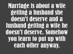 Marriage quote by Blake Flannery. Wedding Messages, Bridal Shower Cards, Happy Marriage, Wisdom, How To Get, Writing, Quotes, Wedding Happy, Qoutes