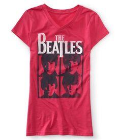 Amazon.com: Aéropostale Womens The Beatles Graphic T-Shirt - 684 -: Clothing