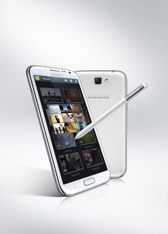 The Samsung Galaxy Note II is Samsung's newest phablet creation, and sports a huge screen, an S Pen stylus and a 8 MP, camera. Best Android Phone, Best Smartphone, Android Smartphone, Android 4, Android Phones, Smartphone Reviews, Latest Android, Galaxy Note 3, Samsung Galaxy S4