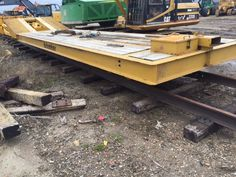 2014 Hytracker Lowbed Model 100,000 lb operating weight Heavy load work along rails 4 axle 43 ft of deck space Price: $165,000 Location: Canada