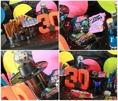 80′s Rock Star 30th Birthday Party