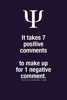 Psychology Facts: being Positive thepsychmind.comimage/121987284834 #psychology #facts #positive thepsychmind.com