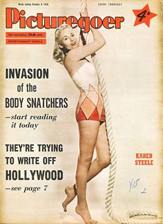 Picturegoer, October 1956. (Karen Steele)