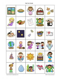 Give Thanks Bingo Game | Religious Education Resources for Teachers