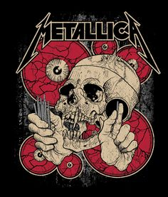 Your Guide To Our Rare Metallica Posters - Metal Hammer | Another Pushead…
