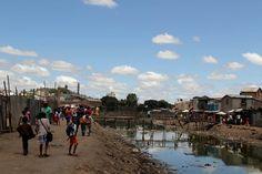 Le CASAN est situé dans un quartier très pauvre et vulnérable de la capitale malgache Antananarivo  © Lucile Grosjean
