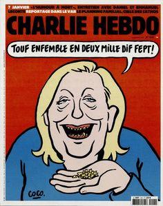 Charlie Hebdo - # 1221 - 16 Décembre 2015 - Couverture : Coco