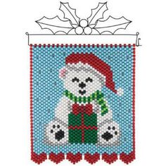 Herrschners® A Gift for You Beaded Banner Kit