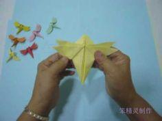 Origami Dragonfly 折纸蜻蜓