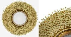 9 Sommertrends von Goldspiegel | Robin Mirror von Boca do Lobo | http://wohn-designtrend.de/ | #goldspiegel #wohnzimmerdesign #luxumobel #einzigartigspiegel