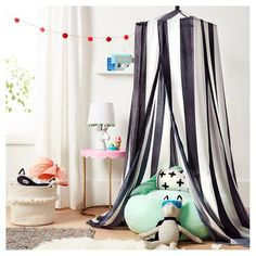 Canopies And Bean Bags - These Kids' Playroom Ideas Are the Definition of Fun - Photos