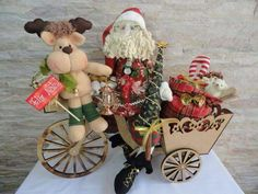 Christmas Wreaths, Christmas Crafts, Christmas Decorations, Xmas, Rena, Four Square, Teddy Bear, Pasta Flexible, Country