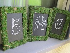 This list has some great ideas to incorporate moss into your wedding decor. We think it adds something extra special for the spring season!