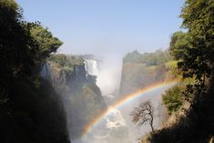 Vic Falls Travel is all about Victoria Falls views and rainbow experiences. At certain times of the day, from certain views and during special times in the month you can see this rainbow clearly during the day.  Victoria Falls flows all year round so seeing the rainbow on your next Vic Falls Travel trip is quite likely. Visit our website to find out when the best time to go is.