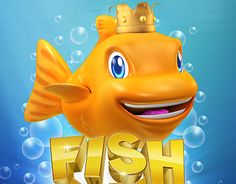 """Check out new work on my @Behance portfolio: """"Fish King Character Design"""" http://on.be.net/1S24wcg"""