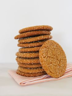 Ginger Snaps   Handmade Charlotte Sweet Desserts, Sweet Recipes, Ginger Snap Cookies, Boston Cream, Party Dishes, Summer Snacks, Baking With Kids, Ginger Snaps, Classic Recipe