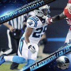 Bené Benwikere un feliz cumpleaños! www.panthers.mx