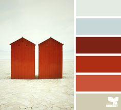 for a pop of color (accents only, no red walls!). mix with industrial and rustic features.