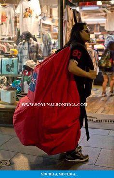 Mochila, mochila…
