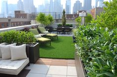 Hell's Kitchen Roof Garden New York City NY NY by Jeffrey Erb