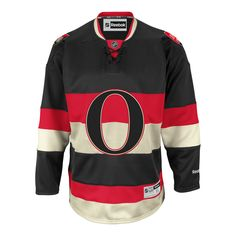 c970c8ce6 Ottawa Senators Reebok Premier Replica Alternate NHL Hockey Jersey -  IceJerseys.com USA - Official