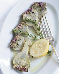 salad asparagus artichoke salad oil poached artichoke heart salad ...