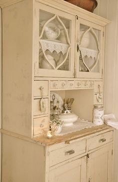 fabulous shabby cabinet
