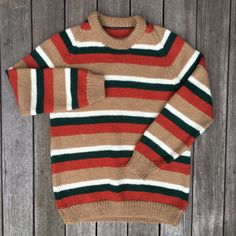 Vintage 90's Striped Women's Hipster Sweater Small Retro Striped... ($20) ❤ liked on Polyvore featuring tops, sweaters, striped pullover sweater, retro sweaters, vintage pullover, sweater pullover and pullover sweater