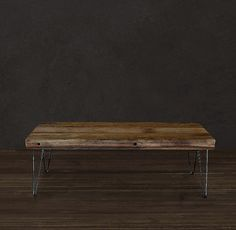 Reclaimed Coffee Table by AtlasWoodCo on Etsy, $335.00