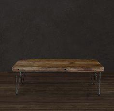 Reclaimed Picklewood Coffee Table von AtlasWoodCo auf Etsy